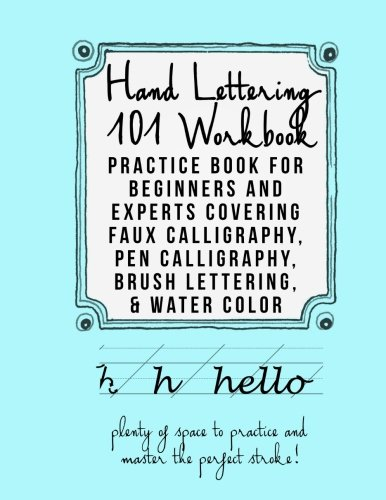 Free Download Hand Lettering 101 Workbook: Practice Book for ...