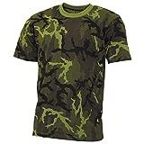 MFH US T-Shirt, Streetstyle, M 95 CZ Tarn, 140-145 g/m² - L