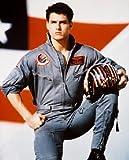 TOM CRUISE AS LT. PETE 'MAVERICK' MITCHELL FROM TOP GUN #10 - Photo cinématographique en couleur - AFFICHE - 60x50cm