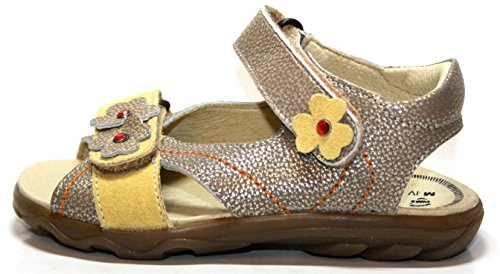 Richter Kinderschuhe , Sandales pour fille Or - Gold (gold/grape)