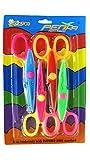 Asian Hobby Crafts 4 in 1 Zigzag Fancy Cuts Craft Scissors