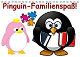 Pinguin-Familienspaß! / Geburtstagskalender (Tischkalender 2017 DIN A5 quer): Die lustige Cartoon-Familie in einem Kalender (Geburtstagskalender, 14 Seiten ) (CALVENDO Menschen)
