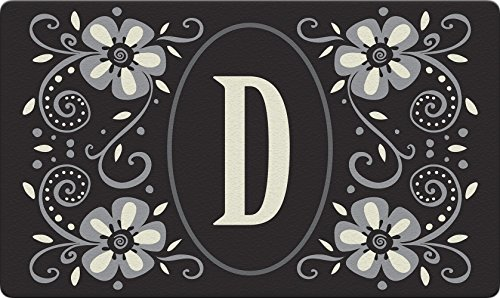 Toland Home Garden Monogramm D 18 x 30 Deko usa-produced Standard Indoor-Outdoor Design Matte 800060