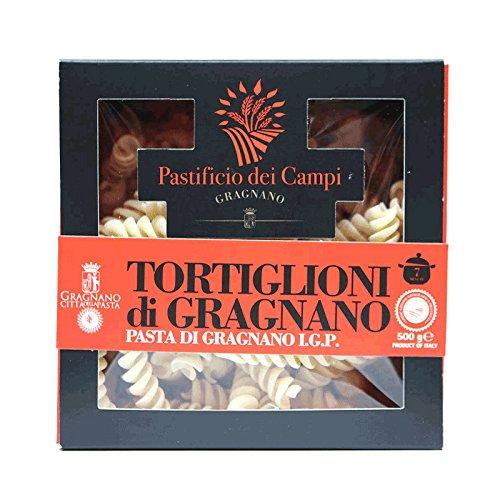 Pastificio dei Campi - No.24 Tortiglioni, Pasta di Gragnano IGP, 500g