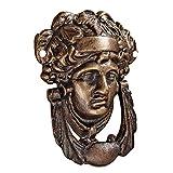 Design Toscano SP25007 Heurtoir de Porte en Fer Authentique de Fonderie Athéna, Bronze, 5 x 12.5 x 18 cm