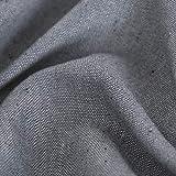 Deconovo Tischdecke Tischwäsche Lotuseffekt Tischtuch 130x280 cm Grau - 6