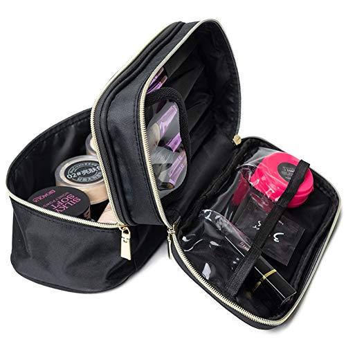 HUATINGRHBO Kosmetiktasche, kleine Kosmetiktasche, Make-up Pinsel Veranstalter tragbare Make-up Tasche wasserdicht für die Reise (25 cm * 12 cm * 15 cm) -