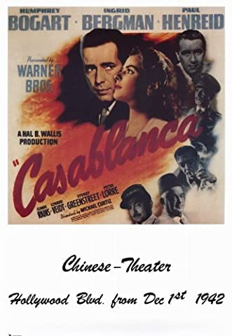 Casablanca Affiche du film Poster Movie Casablanca (11 x 17 In - 28cm x 44cm) Style P