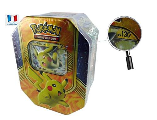 Offre Lagiwa - Carte Pokemon Pokebox en FRANCAIS au choix avec 1 cadeau bonus (Pikachu EX)