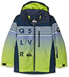 Quiksilver EQBTJ03077 Veste Garçon Lime Green_Block Volley Youth FR : L (Taille Fabricant : L)