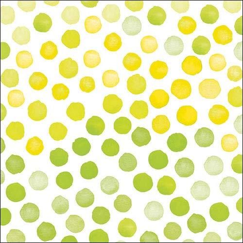 Amb tovaglioli di carta - tovaglioli lunch/fest/party/ca. 33 x 33 cm fantasy verde/giallo pasqua primavera estate - ideale come regalo e decorazione da tavolo.