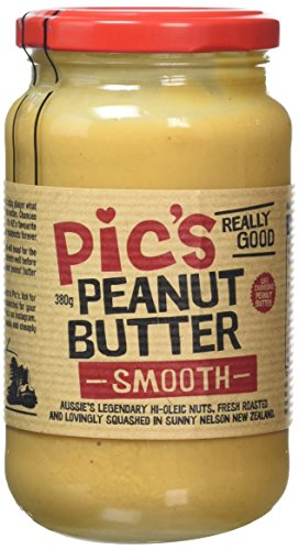 Pic's Peanut Butter Smooth, 380 g, Pack of 4