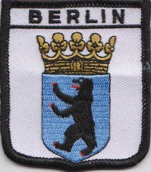 Berlín Alemania Parche con Bandera Bordada