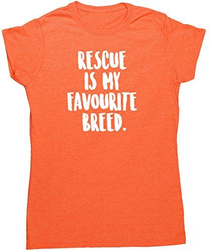 hippowarehouse-camiseta-para-mujer-naranja-naranja-heather-orange-x-large