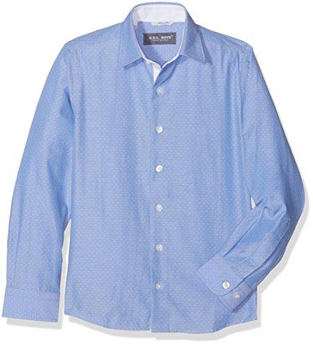 G.O.L. Jungen Kentkragen, Slimfit Hemden, Blau (bleu 10), 146