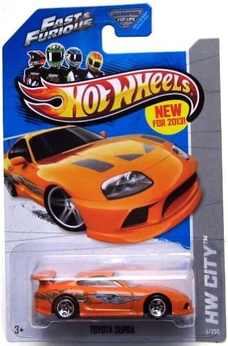2013 Hot Wheels Hw City - Toyota Supra - Fast & Furious by Mattel   Nous Avons Gagné Les éloges De Clients