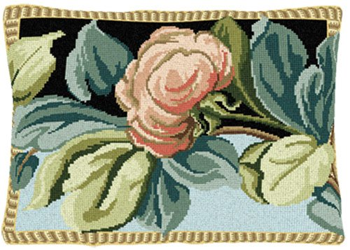 Brigantia Needlework De La Lune Tapestry Cushion Front Kit in Tent Stitch