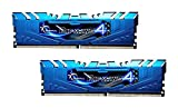 G.SKILL Ripjaws 4 Series F4-3000C15D-8GRBB DDR4 3000 MHz 8 GB Memory Kit - Blue