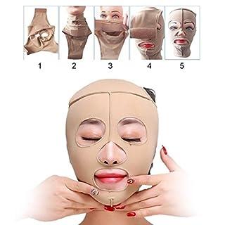 TAOtTAO Health Care Face Massage Full Face Lift Mask Slimming Facial Massage Bandage (M)