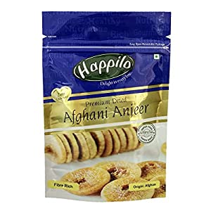 Happilo Premium Afghani Anjeer, 200g and Happilo 100% Natural Premium Californian Almonds, 200g