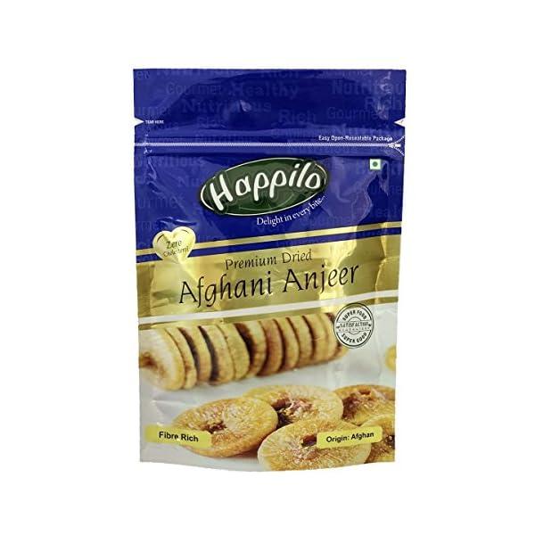Happilo Premium Afghani Anjeer, 200g and Happilo100% Natural Premium Californian Almonds, 200g