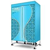 GUO@ Asciugamani Asciugamani ad alta capacità Tre piani Macchina multifunzione Abbigliamento ad asciugatura rapida Parrucchiere Hotel Albergo Dedizione Fogli Asciugatrice abiti-asciugatrici
