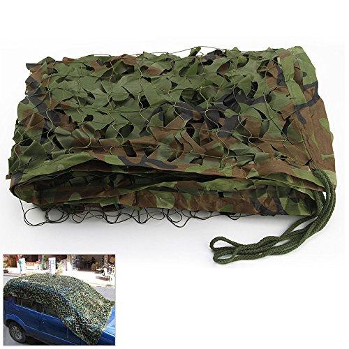 Filet de camouflage - Utilisation militaire, dans le désert, au camping, à la chasse, comme pare-soleil, 3x5M