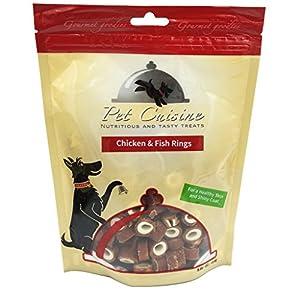 Pet Cuisine Friandise pour Chien,Rings de Poulet & Poisson,250g