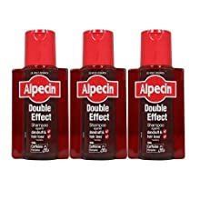 Alpecin Shampooing double effet 200 ml (lot de 3)