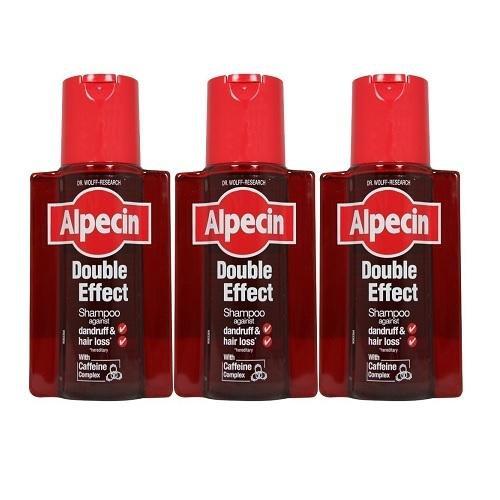 Alpecin Doppeleffekt-Shampoo 200ml (3Stück)