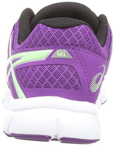 Asics Gel-Evation, Scarpe sportive, Donna Nero (Onyx/Pistachio/Purple 9969)