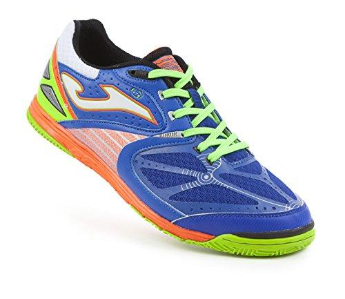 Joma Chaussure de Futsal LOZANO azul-naranja Bleu-orange