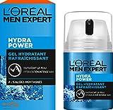 L'Oréal Men Expert Gel Hydratant Rafraîchissant Hydra Power Visage Homme 50 ml...