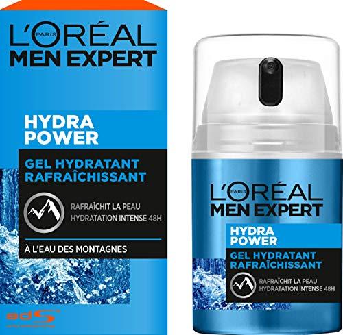 L'Oréal Men Expert Gel Hydratant Rafraîchissant Hydra Power Visage Homme 50 ml