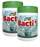 Bacti+ Septic Tank Treatment (2 years), Bacteria and Enzyme Drain Cleaner Eliminates Malodors