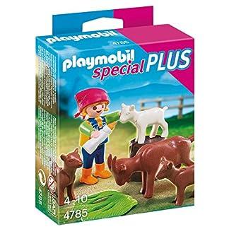 PLAYMOBIL Especiales Plus – Niña con Cabras, playset (4785)