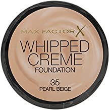Max factor–Whipped crème 35Pearl Beige Fundación 18ml