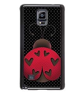 PrintVisa Moving Pest High Gloss Designer Back Case Cover for Samsung Galaxy Note 4 :: Samsung Galaxy Note 4 N910G :: Samsung Galaxy Note 4 N910F N910K/N910L/N910S N910C N910FD N910FQ N910H N910G N910U N910W8