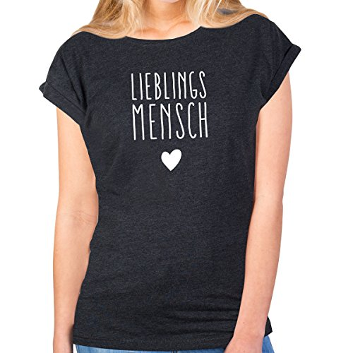 Lieblingsmensch Damen T-Shirt Slim Fit Moonworks®