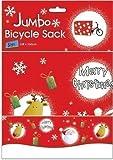 Sac Cadeaux Noel Jumbo Pour Vélo 128 x 100 cm