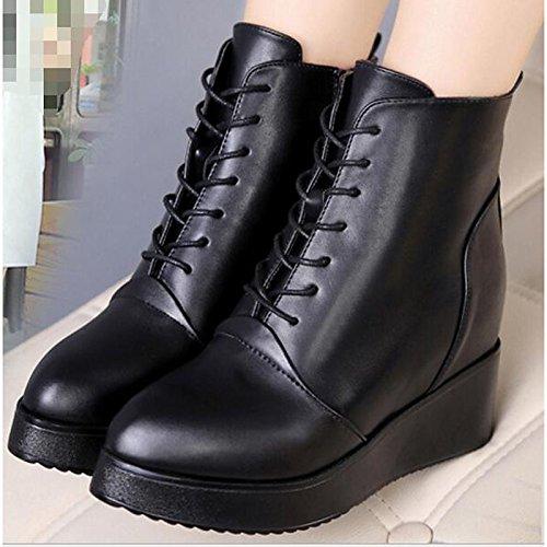 HSXZ Scarpe donna pu primavera cadono Comfort tacco stivali scarpe tacco Comfort a   8a103d