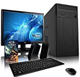 VIBOX Alpha 1 Gaming PC Computer mit War Thunder Spiel Bundle, 19 Zoll HD Monitor (3,8GHz AMD A6 Dual-Core Prozessor, Radeon R5 Grafik Chip, 4Go DDR4 2400MHz RAM, 500GB HDD, Ohne Betriebssystem)