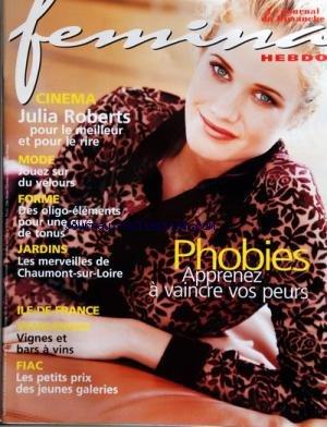 FEMINA HEBDO [No 43] du 28/09/1997 - PHOBIES / APP...