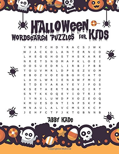 (Halloween Word Search Puzzles For Kids: Word Search Activity Books For Kids (Word Search Game, Band 1))