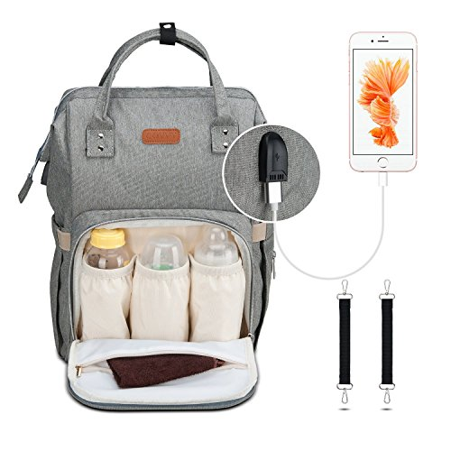 Diaper Bag Backpack, Covvy Large Capacity Diaper...