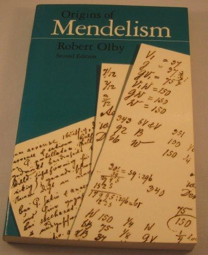 The Origins of Mendelism
