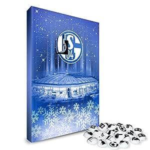 S04 – FC Schalke 04 Kalender, Adventskalender, Weihnachtskalender – Fairtrade-zertifiziert