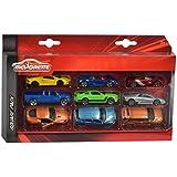 MAJORETTE 212053241–Vehículos de juguete, 9unidades, multicolor