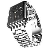 【Valentinstag Geschenk】42mm Apple Watch Uhrenarmband, Evershop® Edelstahl Uhrenarmband Armband...