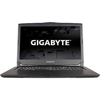 """Gigabyte P57X V6 Notebook da Gaming, Display da 17.3"""", Processore I7-6700HQ, 2.6 GHz, HDD da 256 GB e 1 TB, RAM da 16 GB, Nero"""